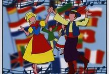Danzas / Danzas del mundo.