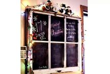 Old Window Crafts / by Chelsey Gilchrist