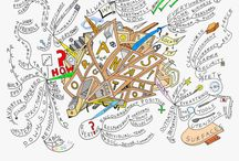 Mind Map Art / Showcasing the finest mind maps from 40+ of the world's most intriguing mind map artists. View galleries @ www.MindMapArt.com / by IQ Matrix