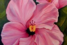 flower power / beautiful flower paintings