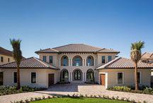 Exteriors-DiPrima Custom Homes / Custom Homes in Brevard County Florida built by DiPrima