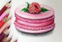 Tegne Cupcake