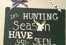 Silhouette jakt