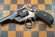 Webley Handguns