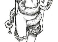 Octopus / Poulpe / pieuvre