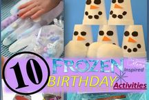 frozen party game ideas