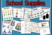 Fall/Back to School theme / by Sierra @ H is for Homeschooling