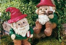 Garden Gnomes / I would love to have a large garden and community of Garden Gnomes