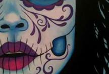 Dia de los Muertos / my birthday / by Arlene Ruiz