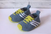 zapatillas bebé y adultos