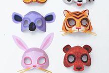 Карнавальные маски:) для детей