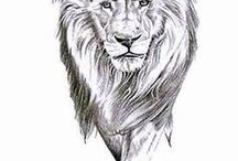 Tetování lva