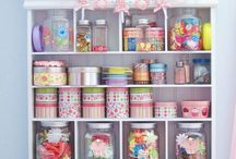 Organizing and craft ideas / Organizing