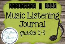 Middle School Choir / Ideas to implement in middle school choir.