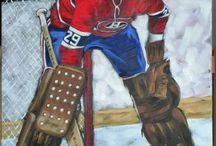Peinture hockey