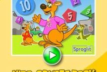 Kira Counting Game / Counting and subtraction game using the Math Arrow from Sproglit!