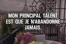 QUOTES • CITATIONS / Citations motivantes & inspirantes