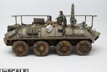 Finished model kits / Model kits, armour, dioramas...