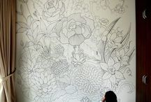 Draw on wall