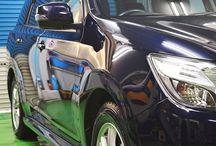 経年車ガラスコーティング