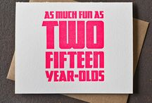 Everybody's turning 30!