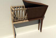 """pod/povrchom / nábytok inspirovany zvieracím """"dizajnom"""""""