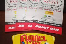 Toronto Food + Drink Market / Toronto Food + Drink Market  April 8-10, 2016 Enercare Centre, Exhibition Place  Funnel Cake Express