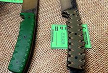 Knives general / Ręcznie robione noże