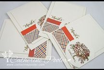 KISS Cards: Keep it Simple Stamper! / KISS Cards:  Keep it simple stamper.  These are quick and easy to make cards!