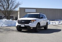 2014 Ford Explorer Front Angle