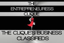 THE CLIQUE'S BUSINESS CLASSIFIEDS / WELCOME TO THE ENTREPRENEURESS CLIQUE~ THE CLIQUE'S BUSINESS CLASSIFIEDS BOARD. THIS IS THE CLIQUE'S JOB & PROJECT BOARD. IF YOU HAVE A PROJECT OR JOB THAT YOU WOULD LIKE TO MAKE AVAILABLE TO THE CLIQUE, PLEASE CONTACT MISS MILLIONAIRESS AND SHE WILL POST IT! ALL JOBS & PROJECTS ARE ONLY AVAILABLE TO MEMBERS OF THE ENTREPRENEURESS CLIQUE~ / by THE ENTREPRENEURESS CLIQUE™