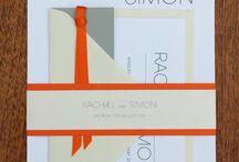 Bright coloured wedding invitations / Bright coloured wedding invitations
