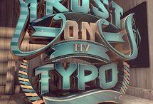 3d typograpic