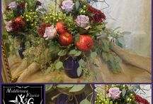 Fall Bouquets / Fun collection of fall floral arrangements