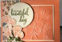Stampin up Wunderblume folder