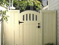 DIY Fence Gate Arbor | Garden Gates and Fences