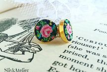SlivkAtelier Petit Point Jewelry