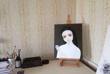Paintings. Pop surrealism / Живопись. Поп сюрреализм