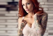 ⊱✴⊰ Anne Lindfjeld ⊱✴⊰ / Tattoo Model