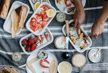 Summer Entertaining / Creative inspiration for picnics, al fresco dining, and backyard get togethers.