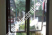 jendela casement ~ jendela sliding / Melayani pembuatan & pemasangan produk jendela kaca & frame aluminium Kontak : 085811430611 - 081281140189 WA : 087878535337 PIN BB : C0013FA79