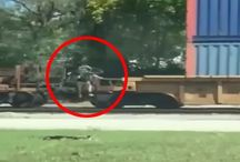 This Jimmy John's Delivery Guy Jumped Over a Moving Train To Stay On-Schedule