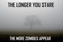 Zombie Apocalypse  / From Walking Dead to Dawn of the Dead to B rated horror flicks and zombie pinup girls.