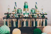 Emerald Cream Gold Wedding