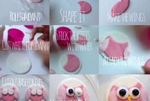 Edible Cake Decorations  / Easy homemade decoration to give a different appeal to any cake or cupcakes