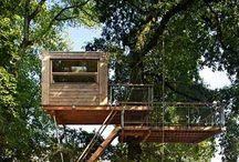 tree houses - gotta love em