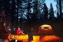 Camping / When we aren't camping we are thinking about camping.