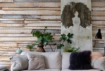 Style-07 / recycled materials / wall coverings