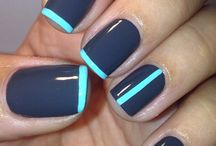 Nails / Fun and funky nail art, nail polish and step-by-step instructions to create the nails you love.