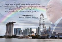 LEE KUAN YEW / Founding Prime Minister of Singapore. Architect of modern Singapore. Papa of Singapore